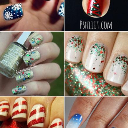 12 Nail Arts fofas para você se inspirar no Natal!