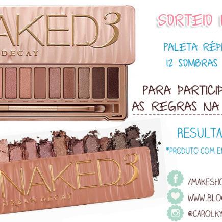 Sorteio Naked3
