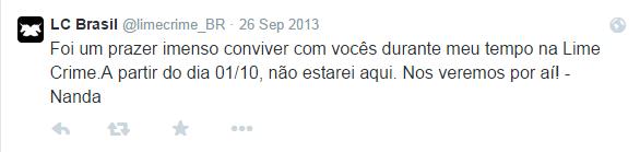 LC Brasil   limecrime_BR    Twitter