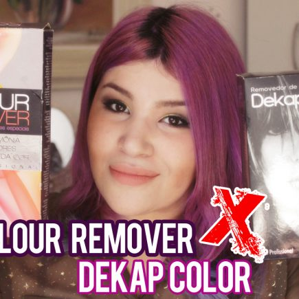 Colour Remover (Alpha Line) versus Dekap Color (Yamá)