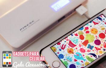 Gadgets para celular / Recebidos Galu Acessórios