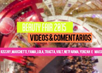 """Novidades Beauty Fair [2015] """"SIMs e NAOs"""""""