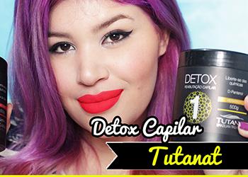 Tutanat Detox Capilar No/Low Poo [Reabilitacao para Transicao Capilar]