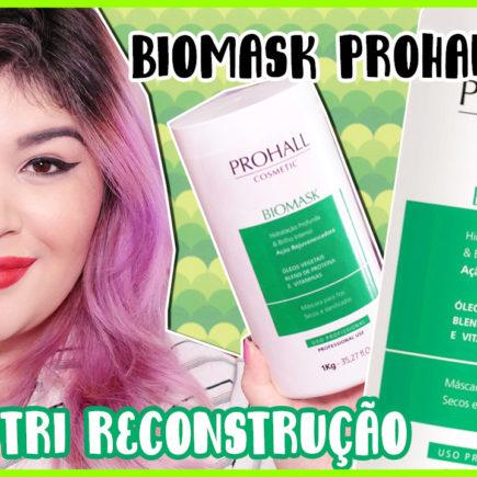 Biomask Máscara Nutri Reconstrutora Prohall