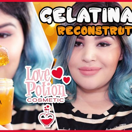 🍨 GELATINA CAPILAR – LOVE POTION [Reconstrução, No/Low Poo] 🍨