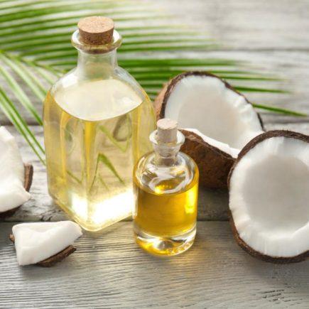 🥥 Hidratação com óleo de coco
